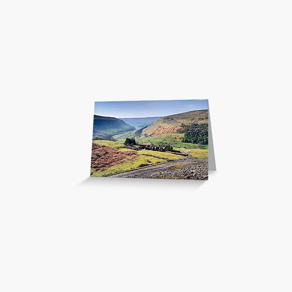 Crackpot Hall - The Yorkshire Dales Greeting Card