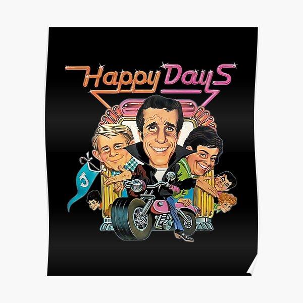 Happy Days Vintage Poster