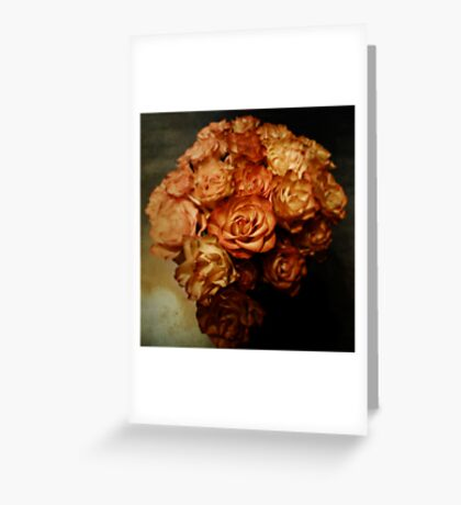 Roses for my love Greeting Card