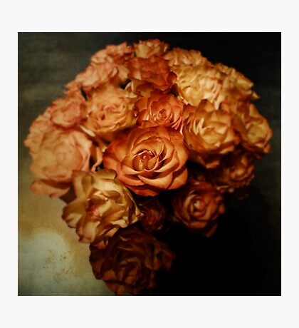 Roses for my love Photographic Print