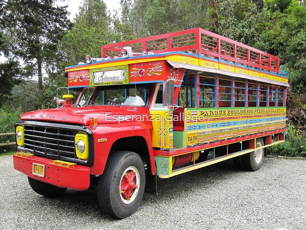 Quot La Chiva Tourists Buses In Colombia Quot By Esperanza