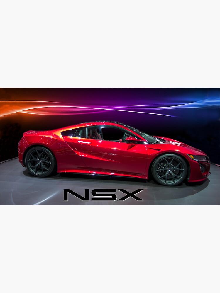 Honda NSX  by liesjes