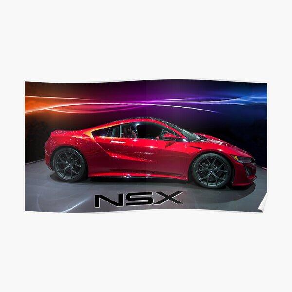 Honda NSX  Poster