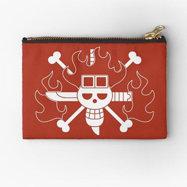 Kid Pirates Jolly Roger Zipper Pouch