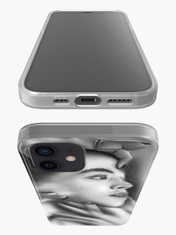 Alternate view of Death of a child (Charcoal drawing) iPhone Case & Cover