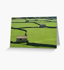 Gunnerside Barns - The Yorkshire Dales Greeting Card