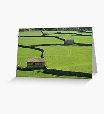 Gunnerside Barns - The Yorkshire Dales Greeting Card