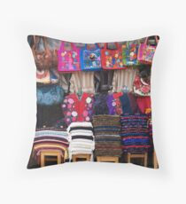 Blankets & bags Throw Pillow