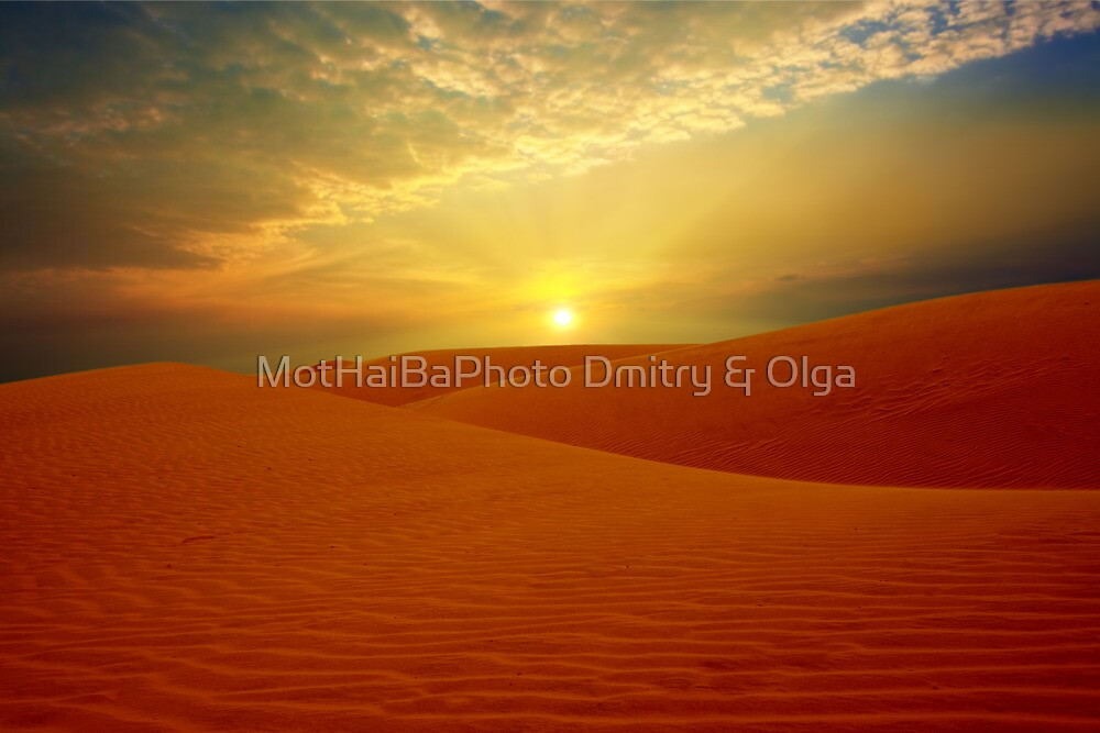 Desert by MotHaiBaPhoto Dmitry & Olga