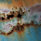 Paint and rust by Heather Thorsen