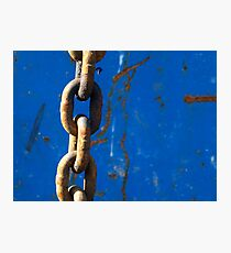 Chained Blues Photographic Print