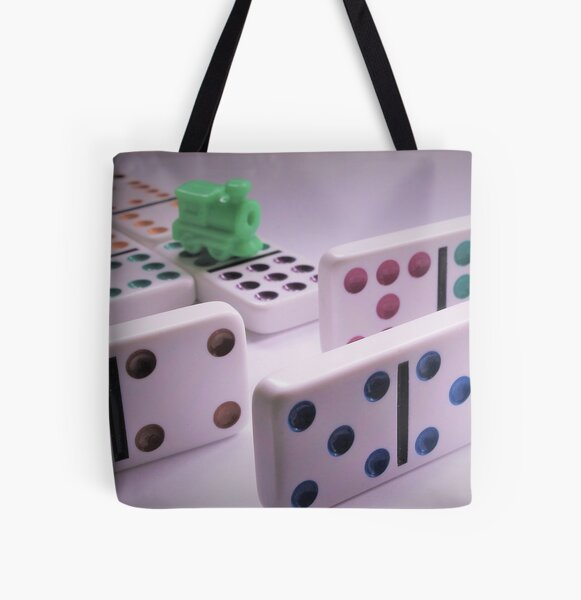 Trouble on the Mexican Train All Over Print Tote Bag