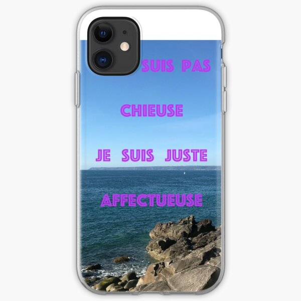 I'm not a lover I'm just affectionate iPhone Soft Case