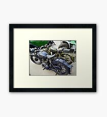 Army and Navy Framed Print