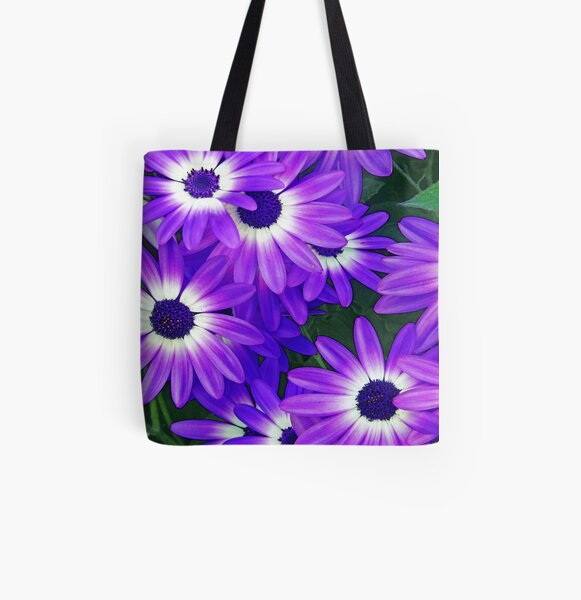 Awesome Osteospermum All Over Print Tote Bag