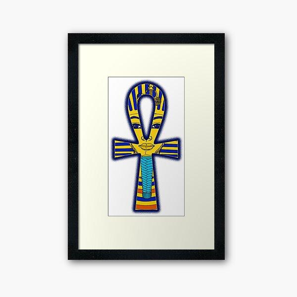 ANCH & Tutanchamun  Gerahmter Kunstdruck