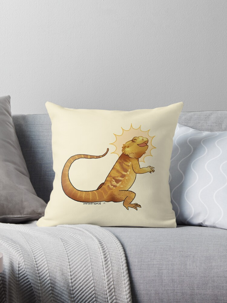 Beardie Helios Throw Pillow By Petakov Kirk Redbubble