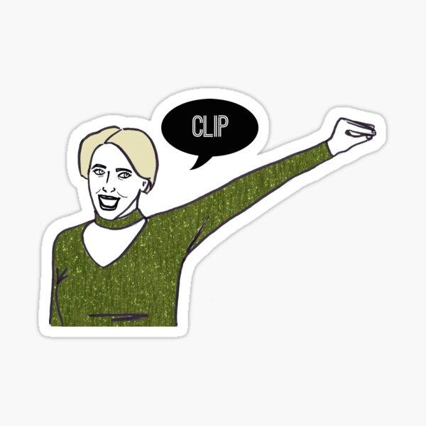 Clip Sticker