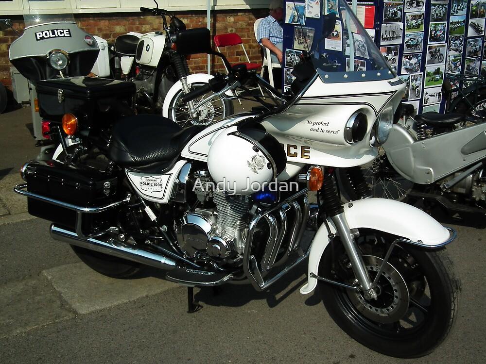 Kawasaki Police 1000 by Andy Jordan