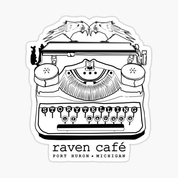 Storytelling of Ravens (RAVEN CAFE) Sticker