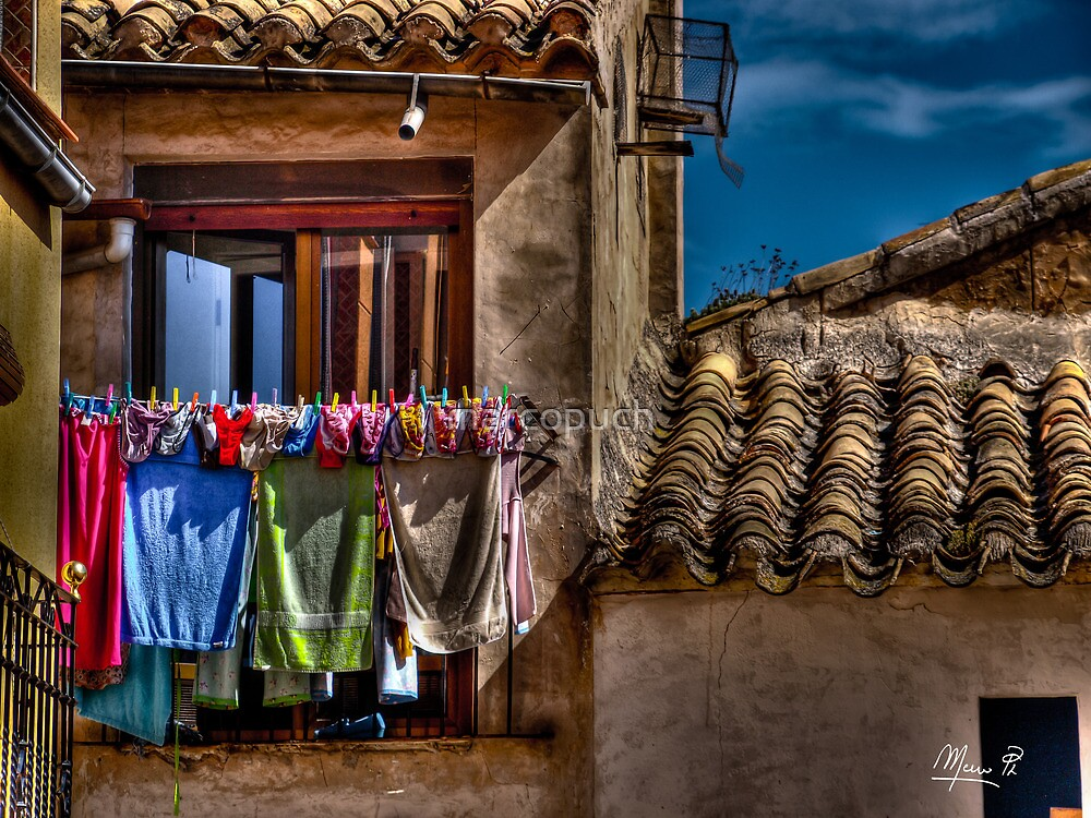 Drying in the sun - (treatment 2) by marcopuch