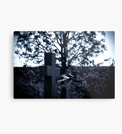 But who is stronger than death? Metal Print