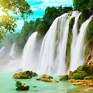 Detian waterfall by MotHaiBaPhoto Dmitry & Olga
