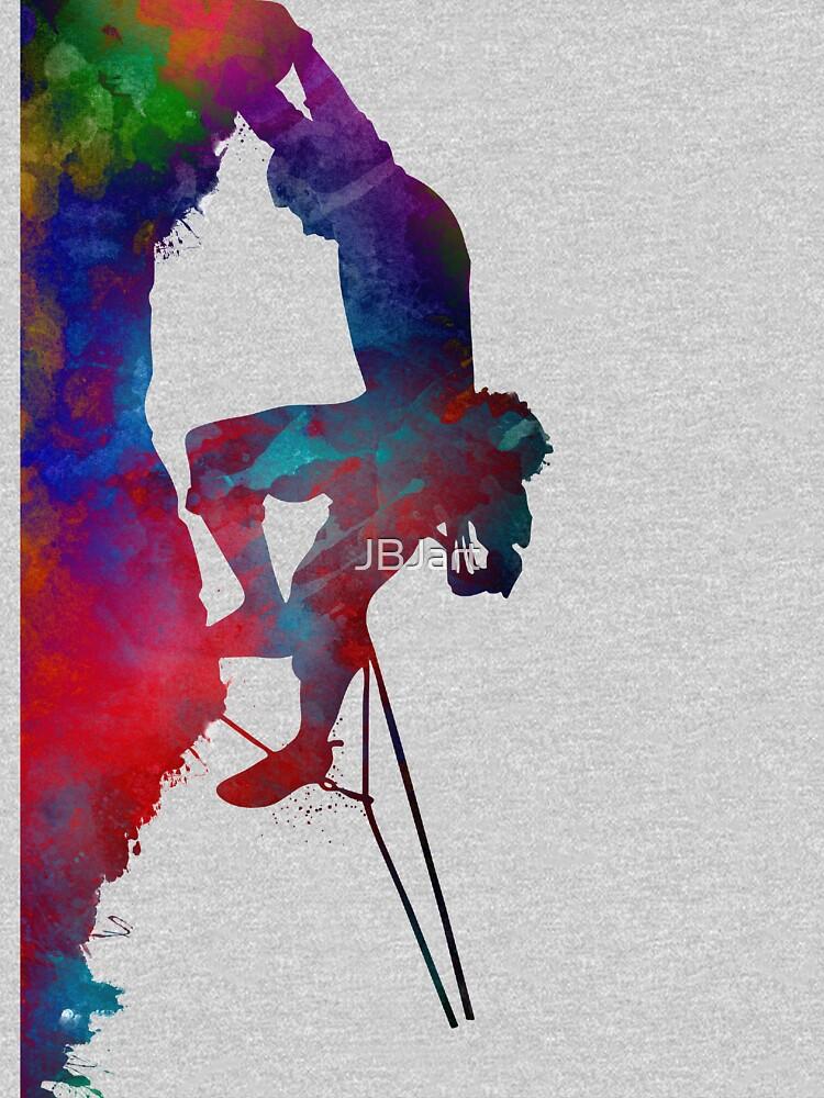 mountaineer climbing sport art #mountaineer #climbing #sport by JBJart