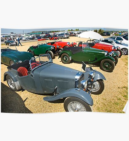 HRG Sports Cars Poster