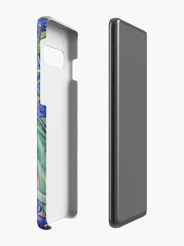 Alternate view of Van Gogh - Irises Case & Skin for Samsung Galaxy