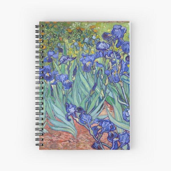 Van Gogh - Irises Spiral Notebook