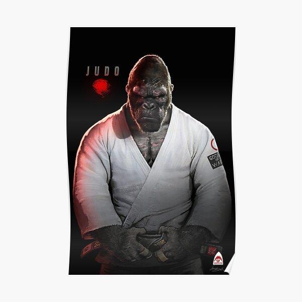 Judo Gorilla Poster