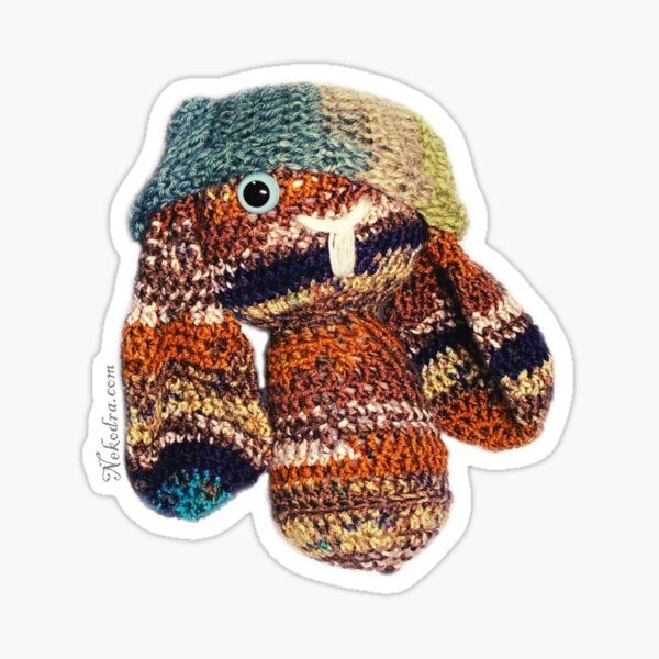 Crochet BunBun Sticker