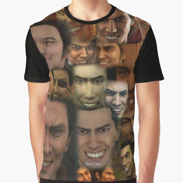Happy Kazuma Kiryu :) Graphic T-Shirt