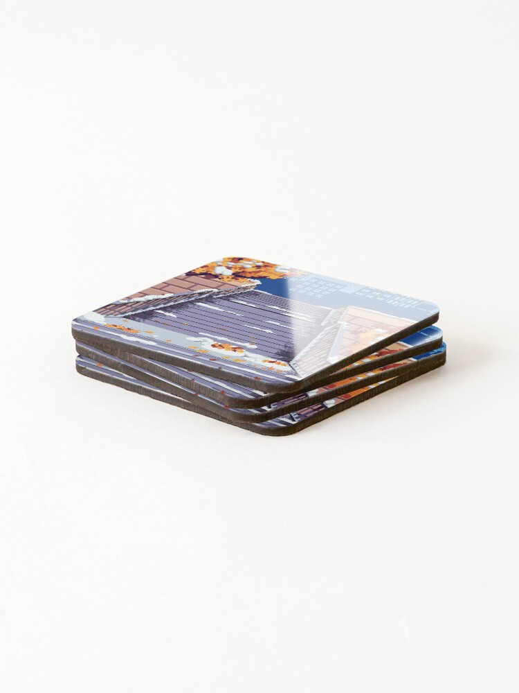 Alternate view of Morning Staircase Coasters (Set of 4)