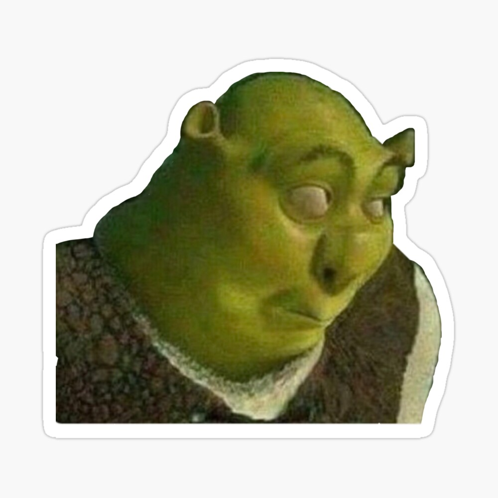 Shrek Face Meme Greeting Card By Calamity02 Redbubble