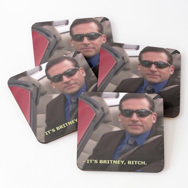 The Office Micheal Scott Meme Coasters (Set of 4)