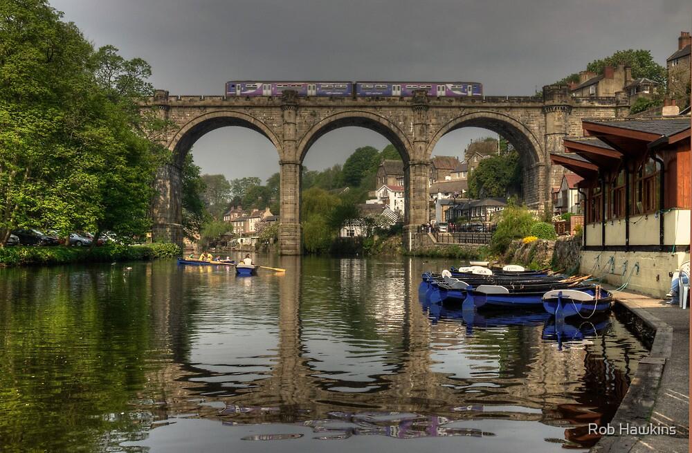 Knaresborough viaduct by Rob Hawkins
