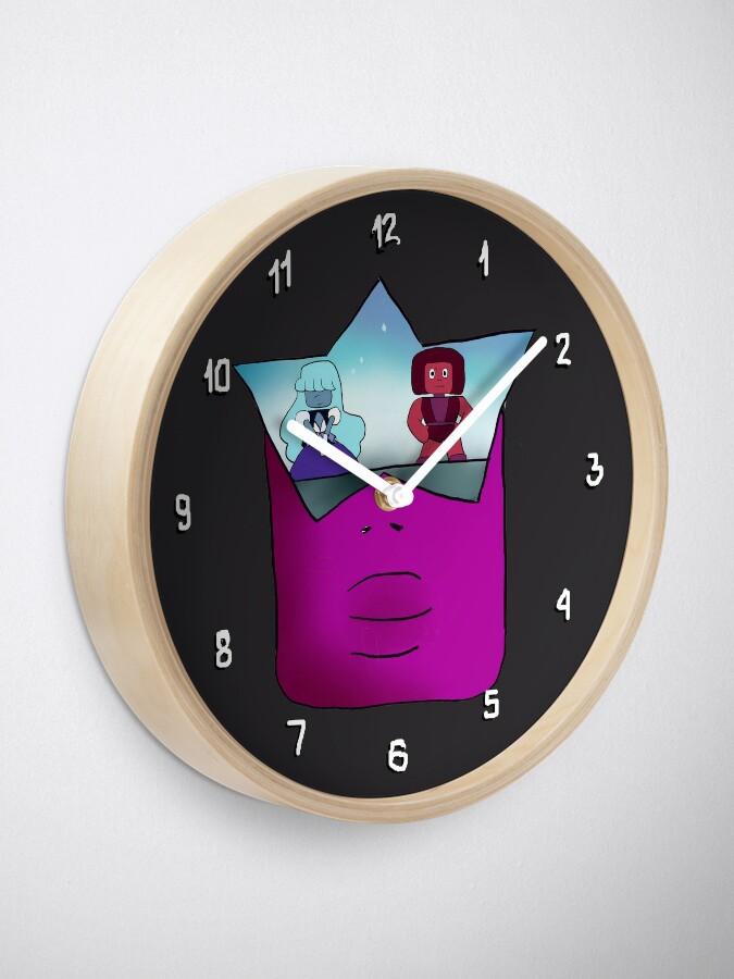 Alternate view of Garnet  Steven Universe The Movie Clock