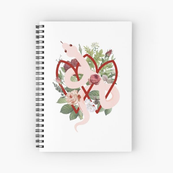 Illustration by Narcisa Gambier Spiral Notebook