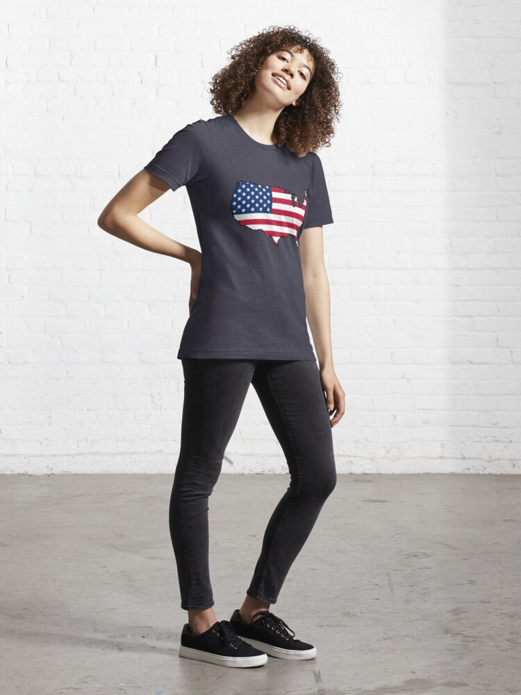 Alternate view of USA Essential T-Shirt