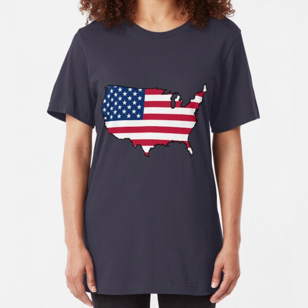 USA Slim Fit T-Shirt