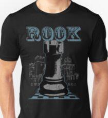 Chess Mate: Black Rook Unisex T-Shirt