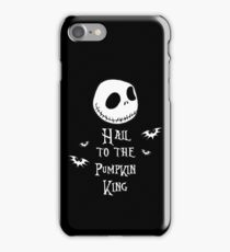Nightmare Before Christmas - Hail to the Pumpkin King v3.0 iPhone Case/Skin