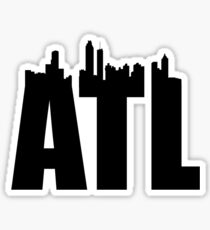 ATL-Skyline Sticker