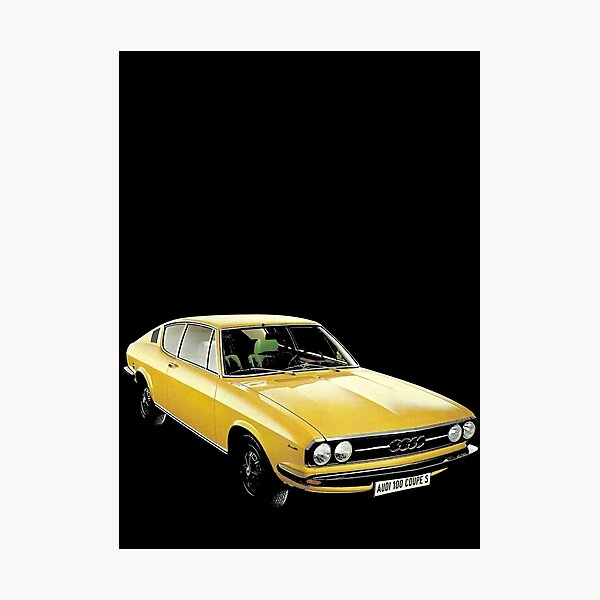 AUDI 100 COUPE S Photographic Print