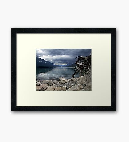 Moose Lake Framed Print