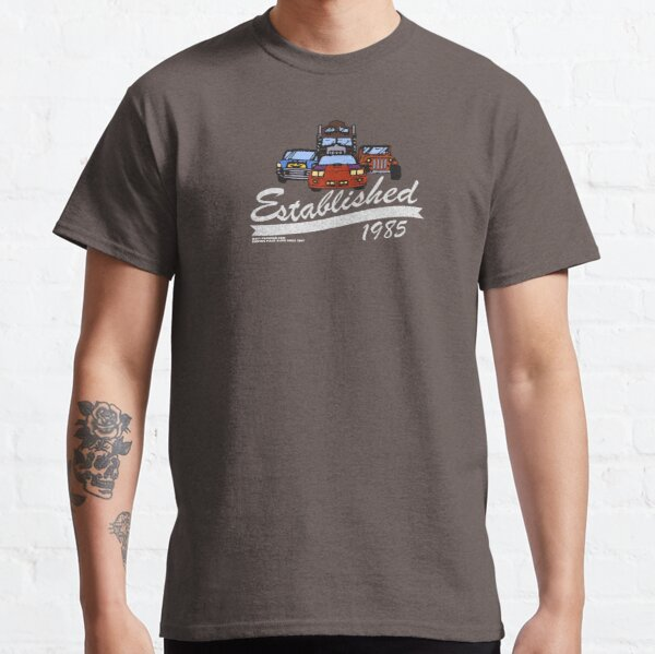 Established 1985 MASK Rhino Thunderhawk Gator Hurricane Classic T-Shirt