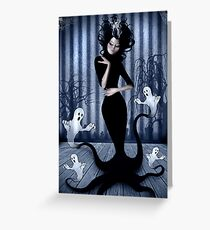 Seance Queen Greeting Card