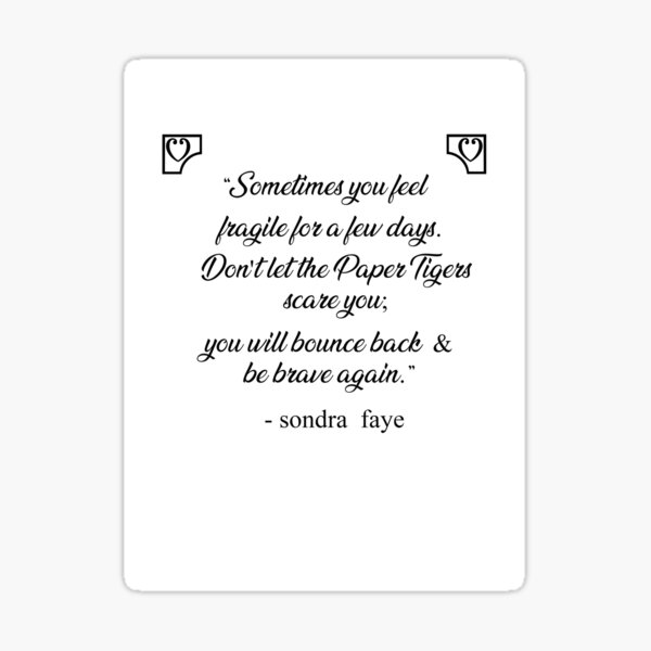 Soulmates Excerpt from a book of poetry by Sondra Faye Sticker